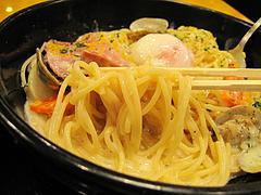 料理:ラーメンじゃなくてパスタ!@洋麺屋・五右衛門・福岡ソラリア・天神