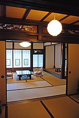 4二階和室@旧川口邸・季節料理なごみ・八女市上陽町