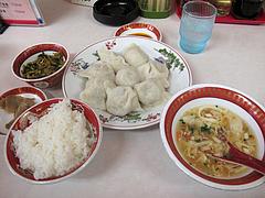 4ランチ:水餃子定食680円@中華料理・餃子李・薬院