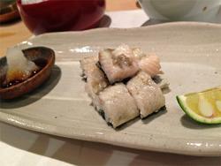 9国産海獲り鰻@鮨の間・松山