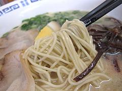 料理:ラーメン麺@こじま亭・大橋
