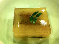 11ランチ:焼きなすの煮こごり@博多大福うどん・うどんすきと水炊き