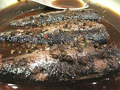 料理:大皿料理の鰯の山椒煮@博多なゝ草(はかたななくさ)・西中洲