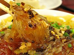 料理:四川葛きりの麺@@大明坦々麺・博多デイトス店麺街道
