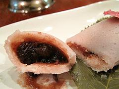 料理:桜もち食べた@菊竹珈琲堂