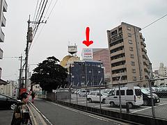 外観:駐車場場所@麺家いろは・富山ブラック・キャナルシティ・ラーメンスタジアム