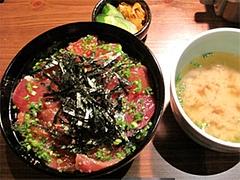 料理:けんしろうめし(海鮮漬け丼)680円@柳橋もつ元柳橋連合市場・福岡