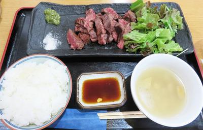6牛赤身のBBQ定食特盛1,200円