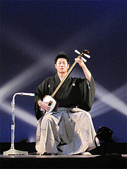 森永基木氏による津軽三味線@民謡・端唄の会