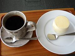 料理:コーヒーとアイスクリーム@茶房わらび野