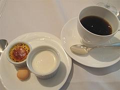 22ランチ:コーヒーとデザート@ブルースター・タカクラホテル福岡