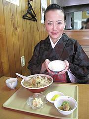 1ランチ:チャンポン定食650円@不二家食堂・大手門