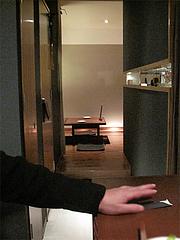 3店内:カウンター9席、掘り炬燵個室4席×2@いきさん牧場・ぶたの王様・大手門