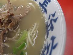 料理:ナシカタラーメンスープ@元祖長浜家ラーメン・中央区港