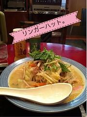 野菜たっぷりちゃんぽん650円@小倉ひまわり通り味の街