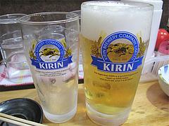 料理:ビール@一竜・川端商店街