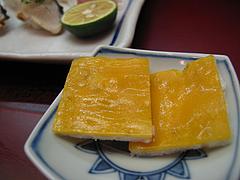 料理:白魚の筏仕立て@日本料理・花柚(はなゆう)・倉敷