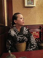 店内:ボックス席で「コーヒーわからんとです。」@可否聖道(コーヒーせいどう)・福岡市南区大橋