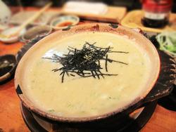 17白身魚の雑炊@海鮮食堂い志い