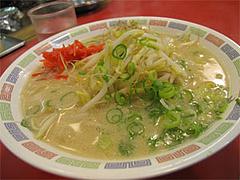 料理:もやしラーメン390円@博多ラーメンはかたや川端店