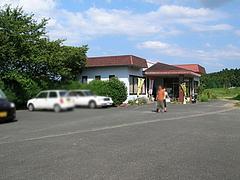 22外観:広い駐車場@福岡・吉井・豚足・山歩