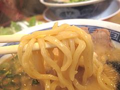 料理:極太わとんこつらーめん@ラーメンまんぼ亭・赤坂