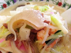 15特製什景湯麺のフカヒレ@江山楼中華街本店