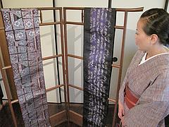 店内:博多帯2@博多織デベロップメントカレッジ・松楠居・やぶ金