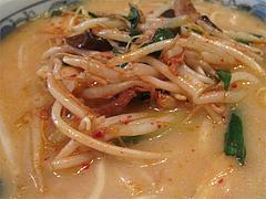 料理:キムチバラ甘麺の具@麺処甘(かん)