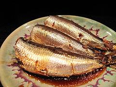 11昭和レトロな日本酒バー:いわしの生姜煮@居酒屋・酒菜の店みき・大橋