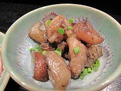 13昭和レトロな日本酒バー:ひとくち豚足@居酒屋・酒菜の店みき・大橋