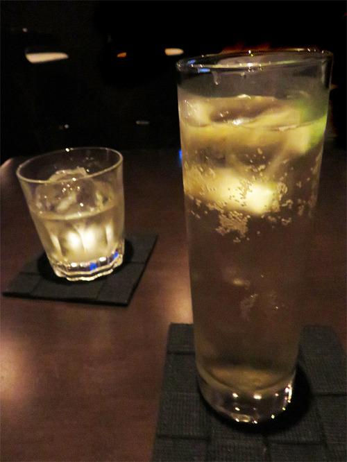 1バーボンソーダ