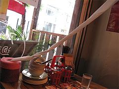 店内:ペーパーナプキン代わり@タイ屋台料理&ヌードル・オシャ