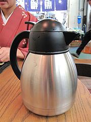 料理:お茶セット・ポットサービス@蛸松月・柳橋連合市場