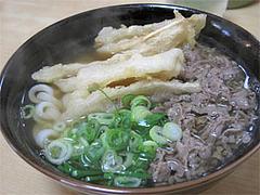 料理:肉ごぼう530円@うどん平(たいら)・博多駅前