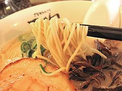 料理:ラーメン麺@天砲ラーメン・春日