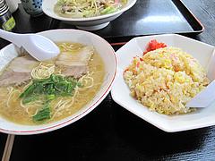 料理:ラーメンセット650円@香蓉軒・那珂川