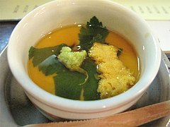 料理:あんかけ茶碗蒸し@海蔵喰からつんもん・赤坂