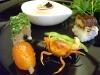 【車海老と鮑の会席】季節の旬菜五種盛り
