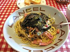 ランチ:ベーコンと高菜和風パスタ@マドンナ・マイアーラ・イタリアン