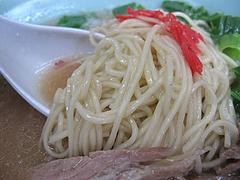 10ランチ:ラーメン麺@ラーメン・のんき屋・高砂