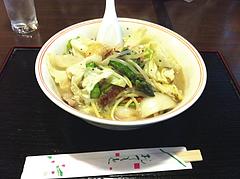 ランチ:特製チャンポン600円@ふくちゃん亭・藤崎通り商店街