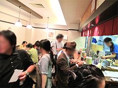 5店内:カウンター10席テーブル16席@お好み焼ふきや・福ビル地下