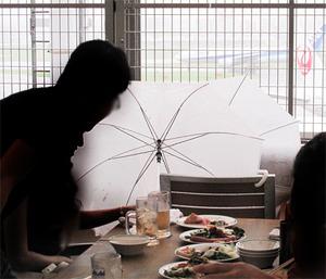 14雨1@福岡空港ビアガーデン