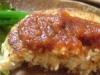 ランチの豆腐ハンバーグ@農家レストラン花酢里(かすり)