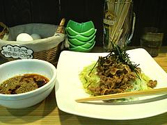 料理:肉そば650円@肉そば・喰海・つけ麺・天神