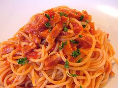 唐辛子とベーコンのトマトソース@スパゲティ専門店CURURU(クルル)