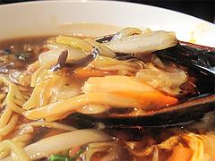 13ランチ:酸辣湯麺(スーラータンメン)具@中華・星期菜・須崎・博多