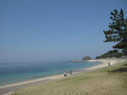 1志賀島海岸@たか木・サザエツボ焼き