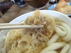 料理:ごぼ天うどんヤワヤワ@みやけうどん・呉服町